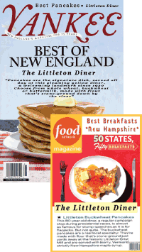 Littleton Diner in Yankee Magazine & Food Network