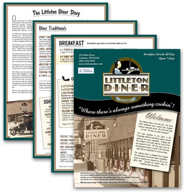 Littleton Diner Menu